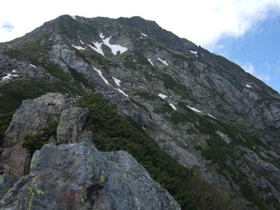 2008年7月1日 北岳周辺