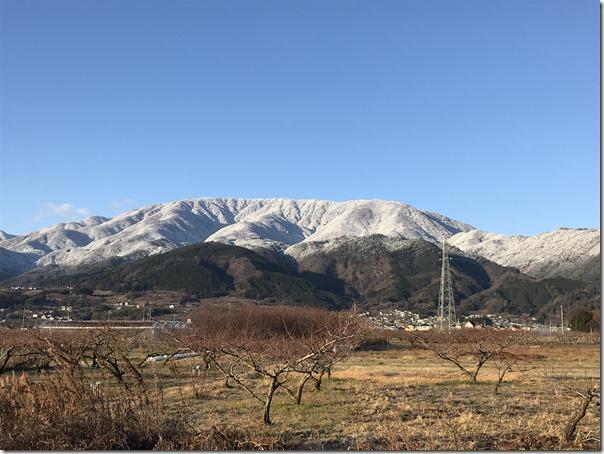 本日の、櫛形山とループ橋からの富士山です!