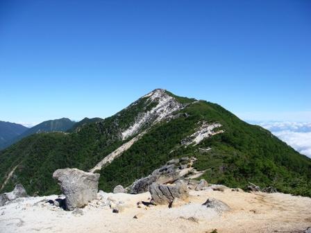 山小屋 鳳凰 三山